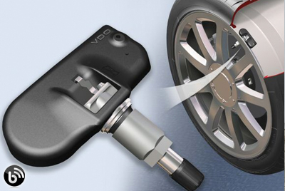 Winter alloy wheels with TPMS